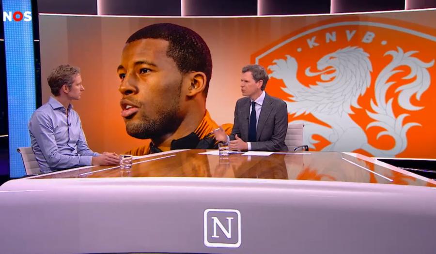 Jacco van Sterkenburg bij uitzending Nieuwsuur