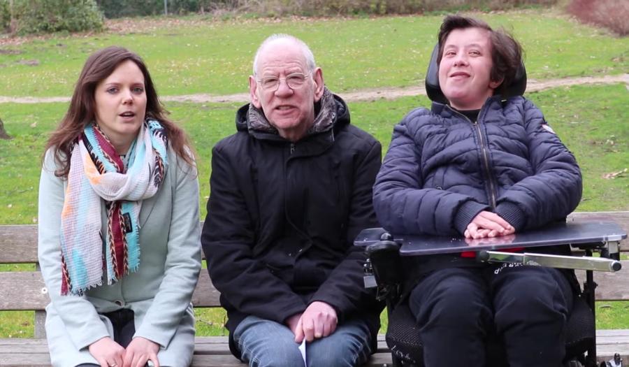 Drie onderzoekers van het Sterker op eigen benen-platform