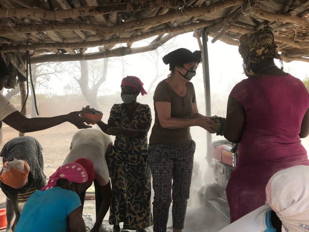 Ervaringen delen met mijnwerkers, Kejetia, Ghana, 2019.
