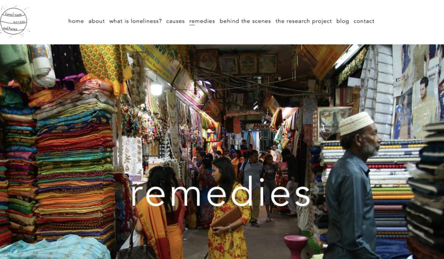 Een foto van een stoffenmarkt uit het midden-oosten